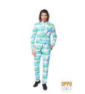 Miami Flaminguy Opposuits Man Kostuum