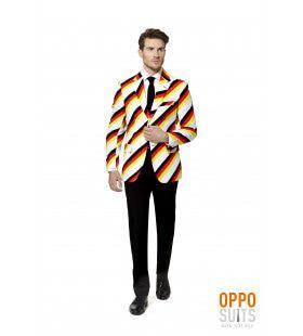 Duitse Der Germinator Opposuit Man Kostuum