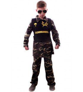 Commando Paratrooper Kinderen Jongen Kostuum