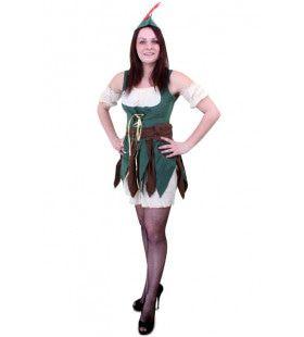 Robin Hood Uit Het Bos Dames Vrouw Kostuum