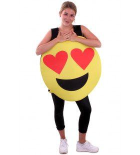 Emoticon Smiley Kostuum Hartjes