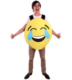 Emoticon Smiley Kostuum Lach