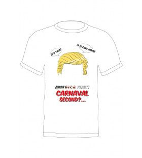 T-Shirt Trump America First Carnaval Second