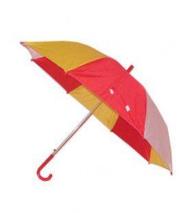 Paraplu Rood Wit Geel 59 Centimeter