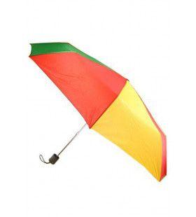 Paraplu Rood Geel Groen 59 Centimeter