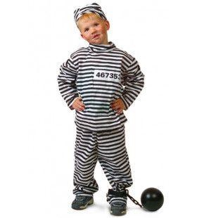 Gevangenis Boef Lichte Jongen Kostuum
