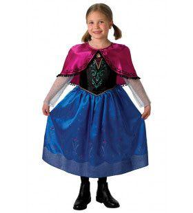 Prinses Anna Frozen Meisje Kostuum