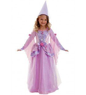 Lieve Lila Fee Prinses Petronella Meisje Kostuum