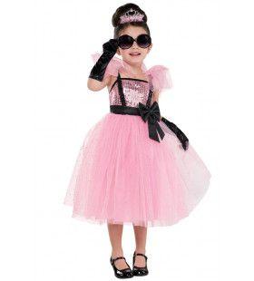 Jaren 50 Filmster Diva Prinses Gracia Meisje Kostuum