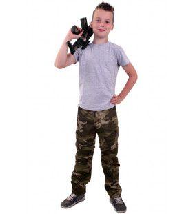 Camouflage Broek Oerwoud Commando Jongen