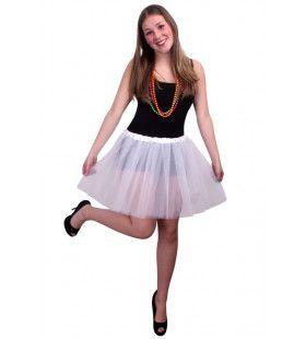 Tule Rok Ballet Wit Vrouw