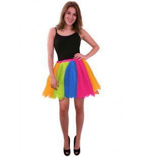 Tule Rok Uit Dansen Regenboog Vrouw