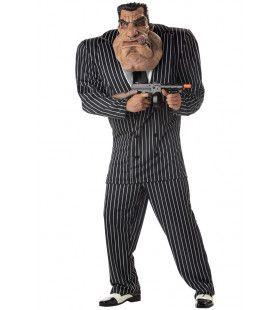 Vuile Werkjes Maffia Gangster Tony Man Kostuum