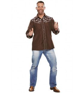 Country Blouse Linedance Bruin Man