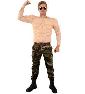 Body Builder Top Spiermassa Man