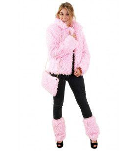 Roze Bontjas Lammy Siberische Toendra Vrouw