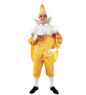 Prins Pils Kampioen Bier Schenken Man Kostuum