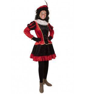 Piet Jurkje Met Petticoat Rood Vrouw