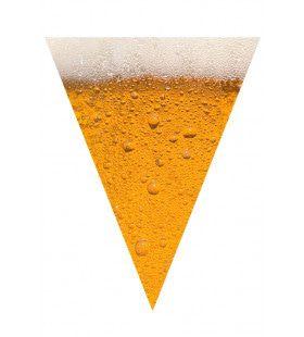 Vlaggenlijn Bier 6 Meter, 15 Vlaggen