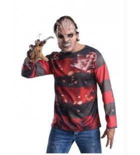 Griezel Freddy Krueger Halloween Man Kostuum