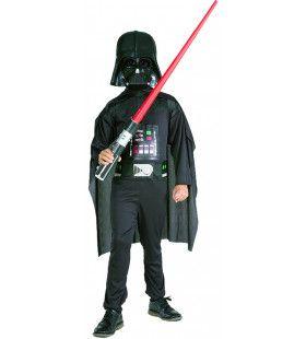 Gevreesde Star Wars Schurk Darth Vader Kind Kostuum