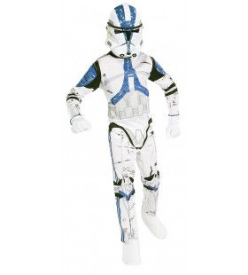 Origineel Clonetrooper Pak Met Masker Kind