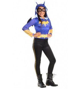 Compleet Batgirl Super Hero Girls Superheld Meisje Kostuum