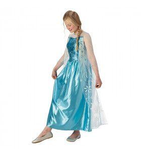 Elsa Van Arendelle Frozen Prinses Meisje Kostuum