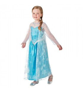 Elsa Frozen Deluxe Disney Prinses Meisje Kostuum