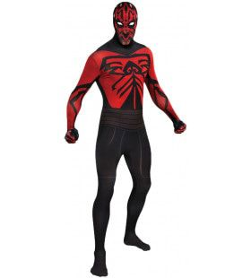 Second Skin Darth Maul Star Wars Morphsuit Man Kostuum