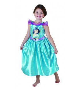 Glanzend Jasmijn Prinses Jasmine Aladdin Meisje Kostuum