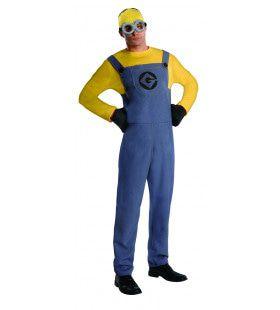 Compleet Minion Dave Despicable Me Verschrikkelijke Ikke Man Kostuum