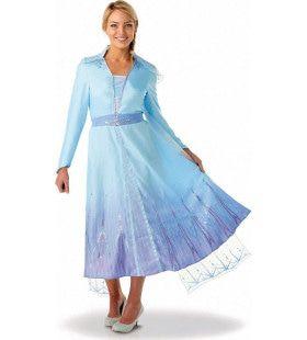 Mooiste IJsprinses Elsa Frozen 2 Vrouw Kostuum