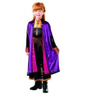 Op Zoek Naar Avontuur Dappere Anna Deluxe Dress Frozen Meisje Kostuum