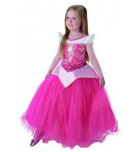 Roze Doornroosje Feestend In De Balzaal Meisje Kostuum