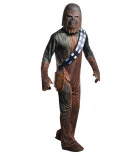 Star Wars Wookiee Strijder Chewbacca Man Kostuum