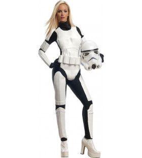Star Wars Stormtrooper Vrouw Kostuum