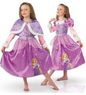 Rapunzel In De Winter Meisje Kostuum