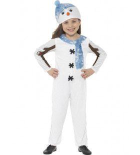 Sneeuwvlok Sneeuwpop Kostuum