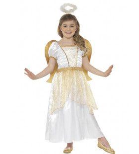 Gouden Engel Prinses Meisje Kostuum