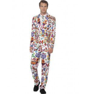 Get Into The Groove Hippie Man Kostuum