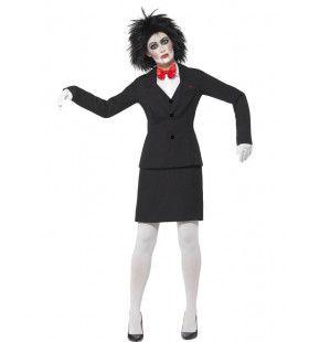 Saw Jigsaw Vrouw Kostuum