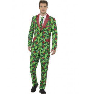 Hulst Blaadjes Kerst Man Kostuum