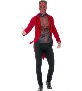 Day Of The Dead Duivel Man Kostuum