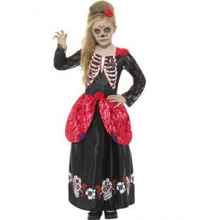 Dona Dia De Los Muertos Meisje Kostuum