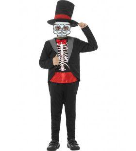 Danny Dia De Los Muertos Jongen Kostuum