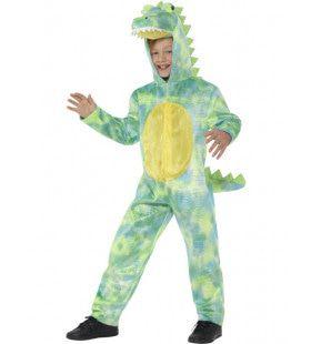Bonte Dinosaurus Krokodil Jongen Kostuum