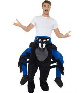 Gegrepen Door Een Spin Man Kostuum