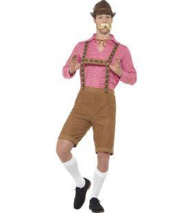 Schuhplattler Schumi Lederhosen Man Kostuum