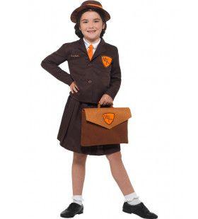 Malory Towers Pitty Kostschool Meisje Kostuum